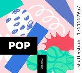 pop music playlist. vector ...