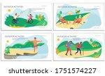 nature activities set of...   Shutterstock .eps vector #1751574227