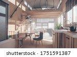 Rustic Tiny House Interior...