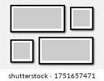 photo frames. collection photo... | Shutterstock .eps vector #1751657471