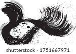 ink splash. brush stroke... | Shutterstock .eps vector #1751667971