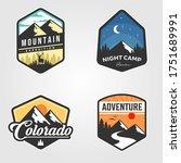 set of adventure traveling logo ...   Shutterstock .eps vector #1751689991