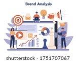 brand manager online service or ... | Shutterstock .eps vector #1751707067