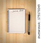 to do list for 2014 june | Shutterstock . vector #175173245