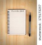 to do list for 2014 november | Shutterstock . vector #175173257