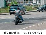 Chopper Rider. Biker Tattooed...