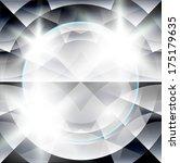 abstract diamond background | Shutterstock .eps vector #175179635