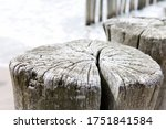 Detailled Photo Of A Wooden...