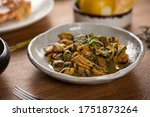 Stewed Mussels In Souse With...