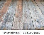 Old Plank Wood Floor  High...