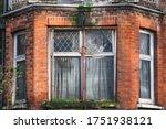 Bay Window Of An Abandoned...