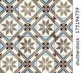decorative tiles. | Shutterstock . vector #175196759