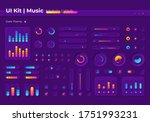 music ui elements kit ui...
