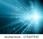 technology background  from...   Shutterstock . vector #175207535