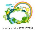 summer or spring  ecology... | Shutterstock .eps vector #1752137231