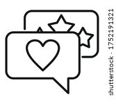engaging chat content icon....   Shutterstock .eps vector #1752191321