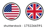 round icons with united states... | Shutterstock .eps vector #1752266591