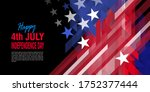 4th of july  american... | Shutterstock .eps vector #1752377444