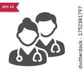 medical team icon. professional ...   Shutterstock .eps vector #1752381797