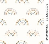 seamless background rainbow...   Shutterstock .eps vector #1752386171