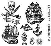 Tattoo Cavalluccio Marino File Vettoriale Scaricato 507