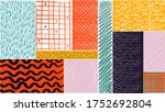 abstractions. modern abstract... | Shutterstock .eps vector #1752692804