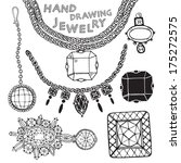 jewelry vector set