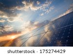background of photovoltaic...