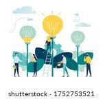 vector illustration. people... | Shutterstock .eps vector #1752753521