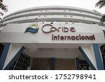 Hotel Caribe Internacional Sign ...