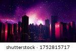 Retro Futuristic City...