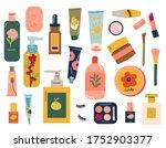 arious skin care   beauty...   Shutterstock .eps vector #1752903377