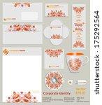design of corporate identity....   Shutterstock .eps vector #175292564
