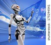 modern designed robotic sci fi. ...