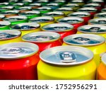 Colorful Aluminum Cans ...