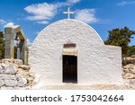 White Chapel With Bell Tower O...