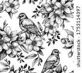 Graphic Seamless Pattern With...
