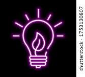 line  eco energy concept pink...