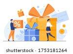 loyalty program concept. people ... | Shutterstock .eps vector #1753181264