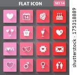 vector application valentines... | Shutterstock .eps vector #175318889