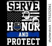 illustration police officer... | Shutterstock .eps vector #1753252061