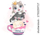 Cute Little Kittens With...