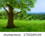 Digital Oil Paintings Landscape ...
