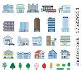 various building | Shutterstock .eps vector #175329251