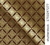vector thai luxury golden and...   Shutterstock .eps vector #1753297277