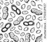 peanuts seamless pattern.... | Shutterstock .eps vector #1753319927