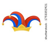 Jester Hat Icon  Clown Head...