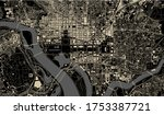 vector map of the city of...   Shutterstock .eps vector #1753387721