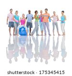 group of healthy people... | Shutterstock . vector #175345415