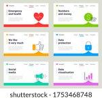 vector set of different... | Shutterstock .eps vector #1753468748